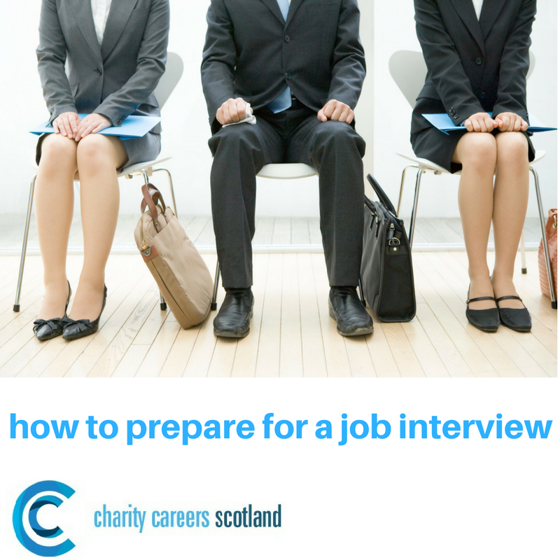 How to prepare for a job interview - Charity Careers Scotland